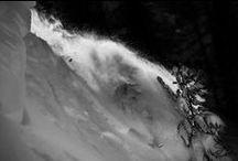 POWPOW  premières traces - Serre Chevalier - Powders - Ski - Snow / Neige et grands espaces Blancs - Snow - Ski - Snowboards - Sports - Mountain -