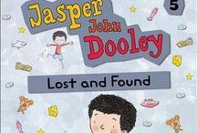 Jasper John Dooley Series / A series of chapter books featuring a charismatic and funny central character. An only child with active, loving parents (and a most impressive lint collection), Jasper John Dooley is a true original. / by Kids Can Press