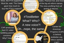 Opt Out of Standardized Testing-Florida Opt Out Network Supporter / We're About Reclaiming Our Public Schools, Not Abandoning Them. We are not anti-testing, we are about appropriate teacher created tests. Find your Opt Out group on FB and stand up for your student and others! #OptOut Now! This is my personal pin board and not that of any group/organization.