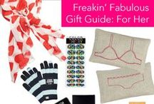 Freakin' Fabulous Gift Guide: For Her / by Clinton Kelly