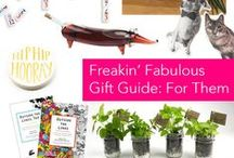 Freakin' Fabulous Gift Guide: For Them / by Clinton Kelly