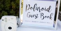 Be Our Guest / Guest book ideas