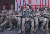 Mathilde Fenger's battle paintings