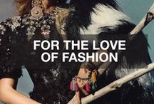 For the love of Fashion / by JAWDA AND JAWDA DESIGN