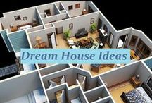 Dream House....decor/layout ideas / If I am ever rich enough to design my own house, I will need all of these :p