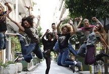 Dance to your Jeans campaign A.W.2013.14 / EDWARD Jeans