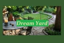 Dream yard...to go with the dream house of course / The dream house will need an amazing yard to go with it of course; and perhaps a gardening team for most of the yard work. :)