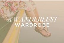 a wanderlust wardrobe / find beauty in the little things. say yes to adventure. be confident. and when in doubt, wear black & gold. / by Carolyn Florence