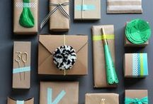 - PACKAGING - / Simple packaging ideas for products and gifts.