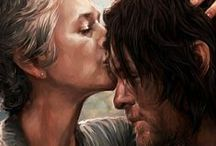 Caryl, the walking dead / Daryl and Carol's love