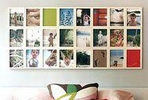 Photo presentation ideas / Inspiration to display your photos around your home