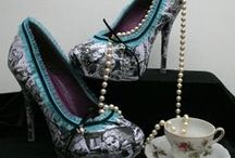 Shoes! / shoes, boots, flats, pumps...the shoes I want to wear  / by Stephanie Americanbyrd