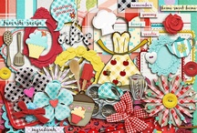 Cooking scrapbooking kits