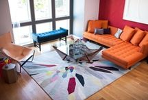 in living color. / Interiors and home decor full of life and full of color.