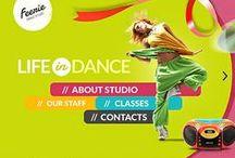 Dance Website Templates