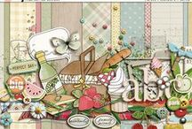 Specific foods scrapbooking kits / Scrapbooking kits with a specific food theme.
