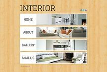 Interior & Furniture Website Templates