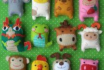 Soft toys / by Susan Hansen