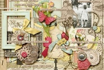 Summer scrapbooking kits / Scrapbook your summer with summer themed kits and elements.