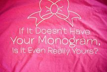 Monogram Love / by Amanda Johnson
