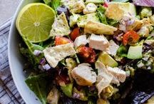 Salad Time! / All kinds of salads and dressings, lettuce, beans, potato, veggie, and more / by Stephanie Americanbyrd