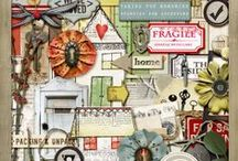 Renovation and Moving Scrapbooking supplies / Digital scrapbooking supplies with a renovation or moving theme.