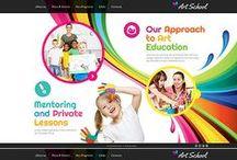 Colorful Website Designs