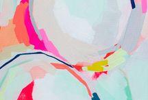 Abstract Art / Love! Inspiration!  / by Jodi Spilde