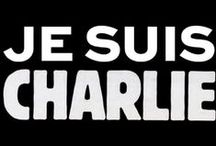 """je suis charlie #jesuischarlie / Sur l'attentat du 7 janvier 2015 à Charlie hebdo et ses suites dont #jesuischarlie Vous pouvez rejoindre ce tableau et déposer vos """"images"""" et liens... Il suffit de vous abonner à mon compte @Yseultdel et de m'envoyer un message pour que je vous ajoute :)"""