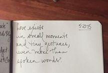 poetry / poems I write + love. / by Mari Huertas
