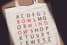 Carrier Bags - Font Sunday / 2 August 2015 - Guest hosted by Design Museum Shop http://designmuseum.org/things-to-do/events/font-sunday