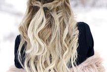 hair & make up / If you want to contributor on this board please send me an email : yseultdel.pinterest@gmail.com  :) Courts, longs, mi-longs, frisés, lisses, bouclés, châtains, blonds, roux, noirs, crépus, naturels, colorés, tresse, frange, etc. bref les cheveux dans tous ces états