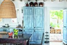 Rustic Charm - Rooms and Nooks / Rooms and nooks with a rustic charm. Country decor, shabby chic, urban rustic decor, bohemian decor
