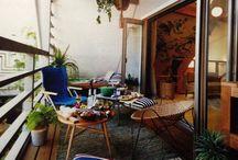 Outdoor & balcony ideas / Outdoor & balcony decor, balcony garden, balcony decor, balcony ideas, outdoor decor, outdoor patio ideas