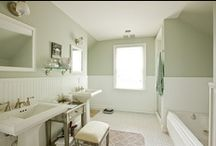 Bathrooms / by Allison {A Glimpse Inside}