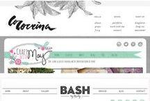 Creative Blog Designs / Creative Blog Designs / by A Sunny Yellow Window
