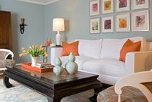 Living Rooms / by Allison {A Glimpse Inside}