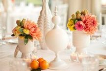 centerpieces and tablescapes / by Allison {A Glimpse Inside}