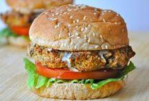 Veggie Burgers + Dogs