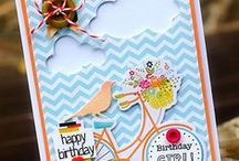 *My Projects - Scrappy/Cutesy Cards