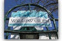 Willow Glen California / A wonderful bedroom community of San Jose with tree lined streets, large parks, and quaint downtown.  Smile! You are in Willow Glen! / by CJ Brasiel