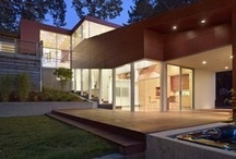 Architecture / The architecture in the bay area is as diverse as the landscape. From urban chic to green design and rustic ranches, I love touring homes and seeing what makes a home. / by CJ Brasiel