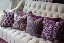Radiant Orchid: Pantone's 2014 Color of the Year / #color #radiantorchid / by Amanda Carol Interiors