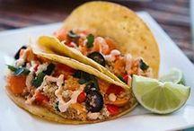 Mexican / Tacos, Burritos, Quesadillas & Enchiladas