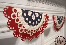 Patriotic Fun- 4th of July Ideas / All things 4th of July  / by Allison {A Glimpse Inside}