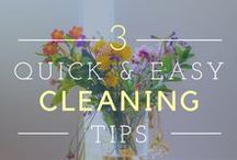 Organization & Cleaning / Keep your house clean and beautiful with tips for organization.