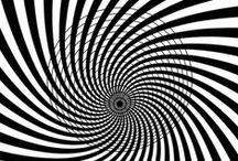 Optical illusions! / Optical Illusions are fun and sometimes creepy! Take a look but don't stare too long as you might get a headache... have FUN!