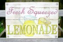 Pallet Art and Signs / diy signs and other fun signs / by Allison {A Glimpse Inside}