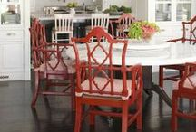 Red / #red #color  / by Amanda Carol Interiors