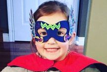 Superhero Ideas (Petit Mail: Olivia The Superhero) / Pins to inspire additional family interaction & children's activities that supplement the stories contained in #petitmail educational story cards. www.petitmail.ca / by Alison Butler | Petit Mail Story Postcard Subscription For Kids